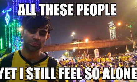 Bersih's emo protestor is done doing memes