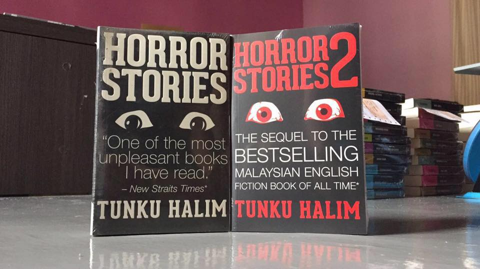 You won't be able to close your eyes to sleep after reading these two books. Image by Tunku Halim