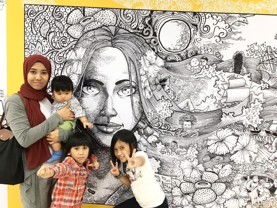 Arif's familia! Image credit: Superdoofus.