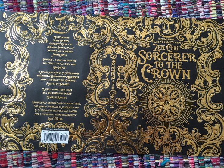 Zen Cho's debut novel, Sorcerer to the Crown. Image credit zencho.org