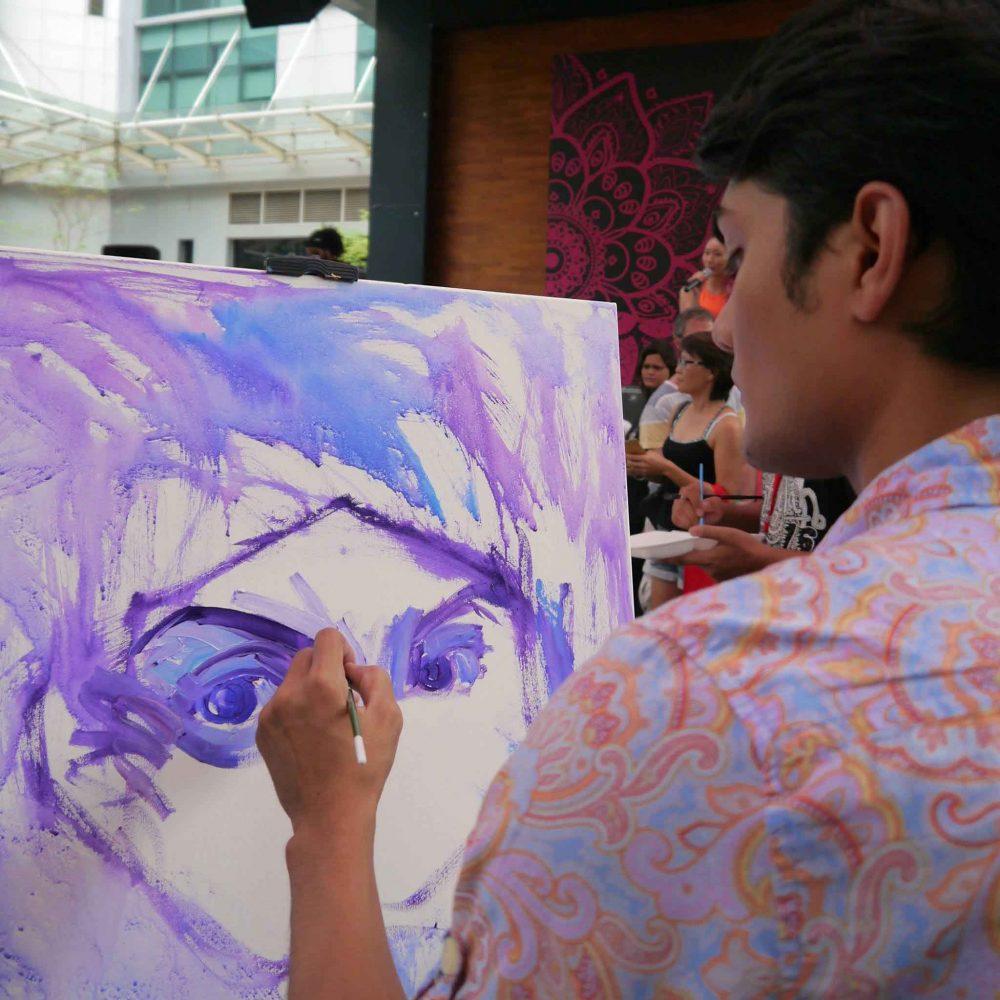 Image credit: Art Battle Malaysia