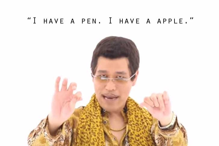 PPAP – a critical dissection of Piko-Taro's Freudian fruit fetish