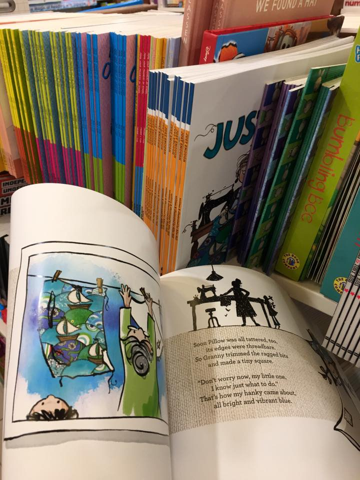 This is how the book looks like from the inside! Pic credit: Jess @Sillycow Farm