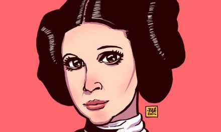 Malaysians pay homage to Carrie Fisher through art