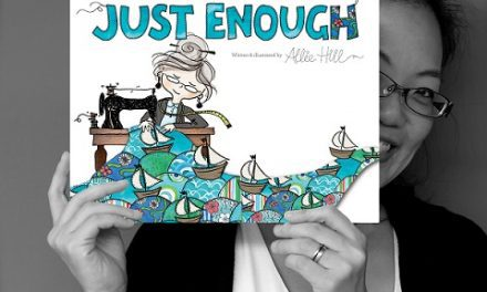 "Can't get enough of Allie Hill's latest book ""Just Enough"""