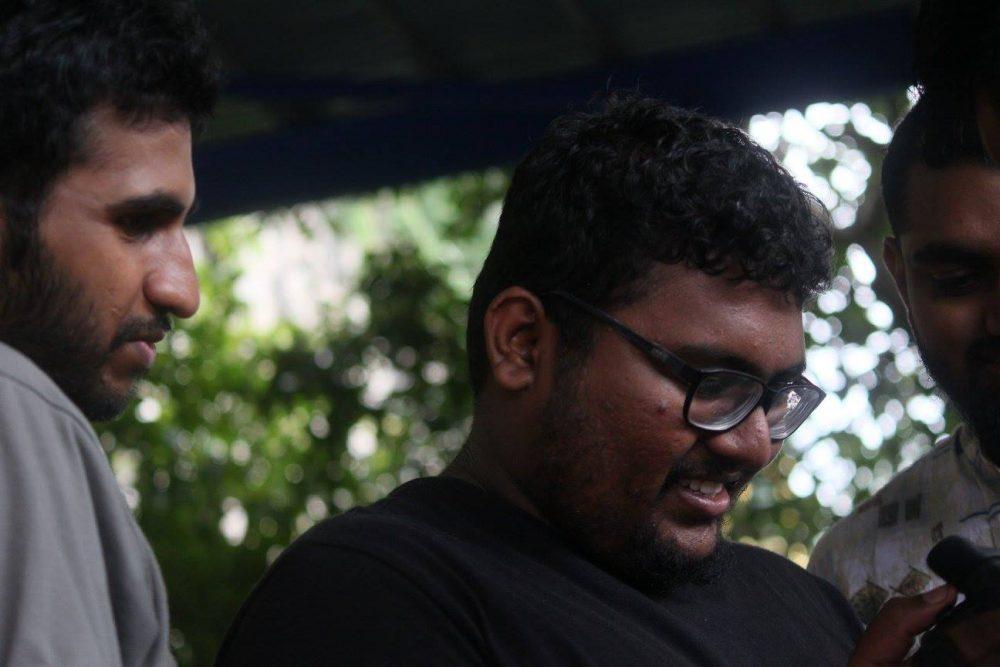 The man behind the mockumentary, 24-year-old Gogularaajan. Image credit: Naarasimma