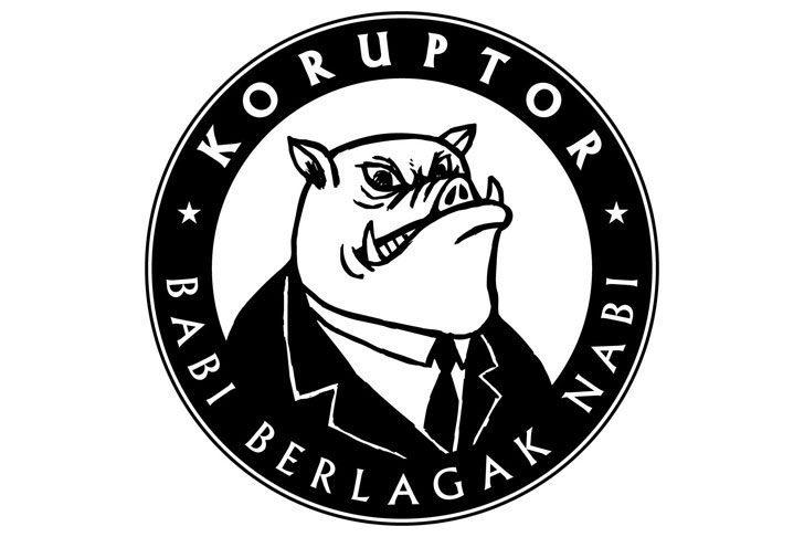 """How about pig logo on corrupt politicians?"" Fahmi Reza suggests"