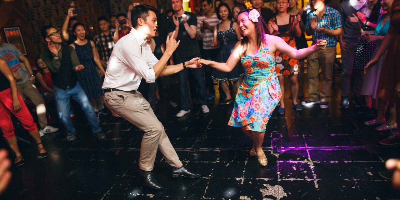Say goodbye to clubbing and hello to swing dancing!