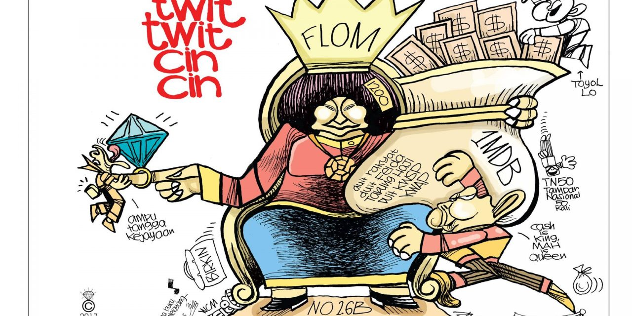 Extra characters are set to take centre stage in Zunar's latest book