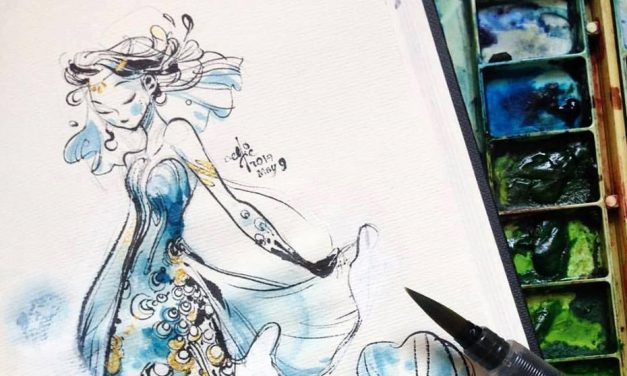 Mermaids, mothers and pets, here are May 2017's artworks!