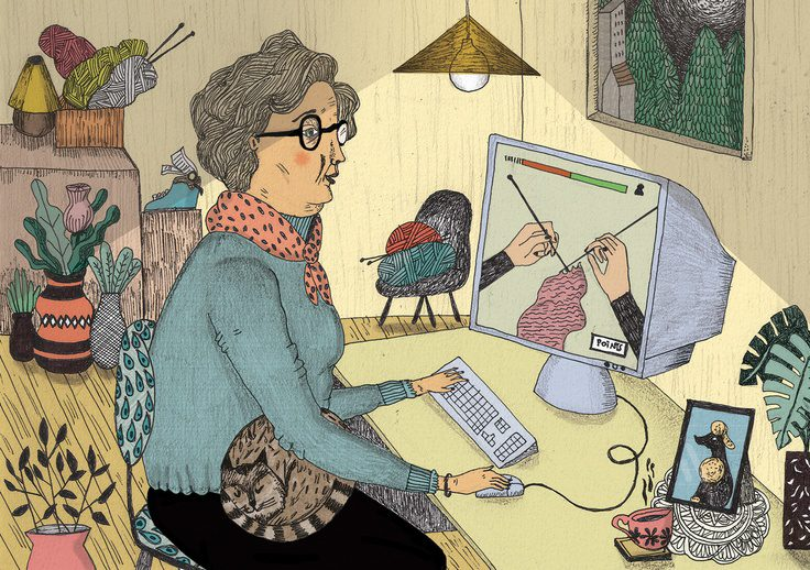 POETRY | Tech Savvy Grandma by Anuradha Chelliah