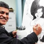 """Talent is a responsibility,"" Malaysian cartoonist Zunar says"